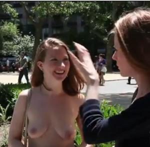 femme-seins-nus-new-york