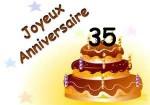 35e anniversaire