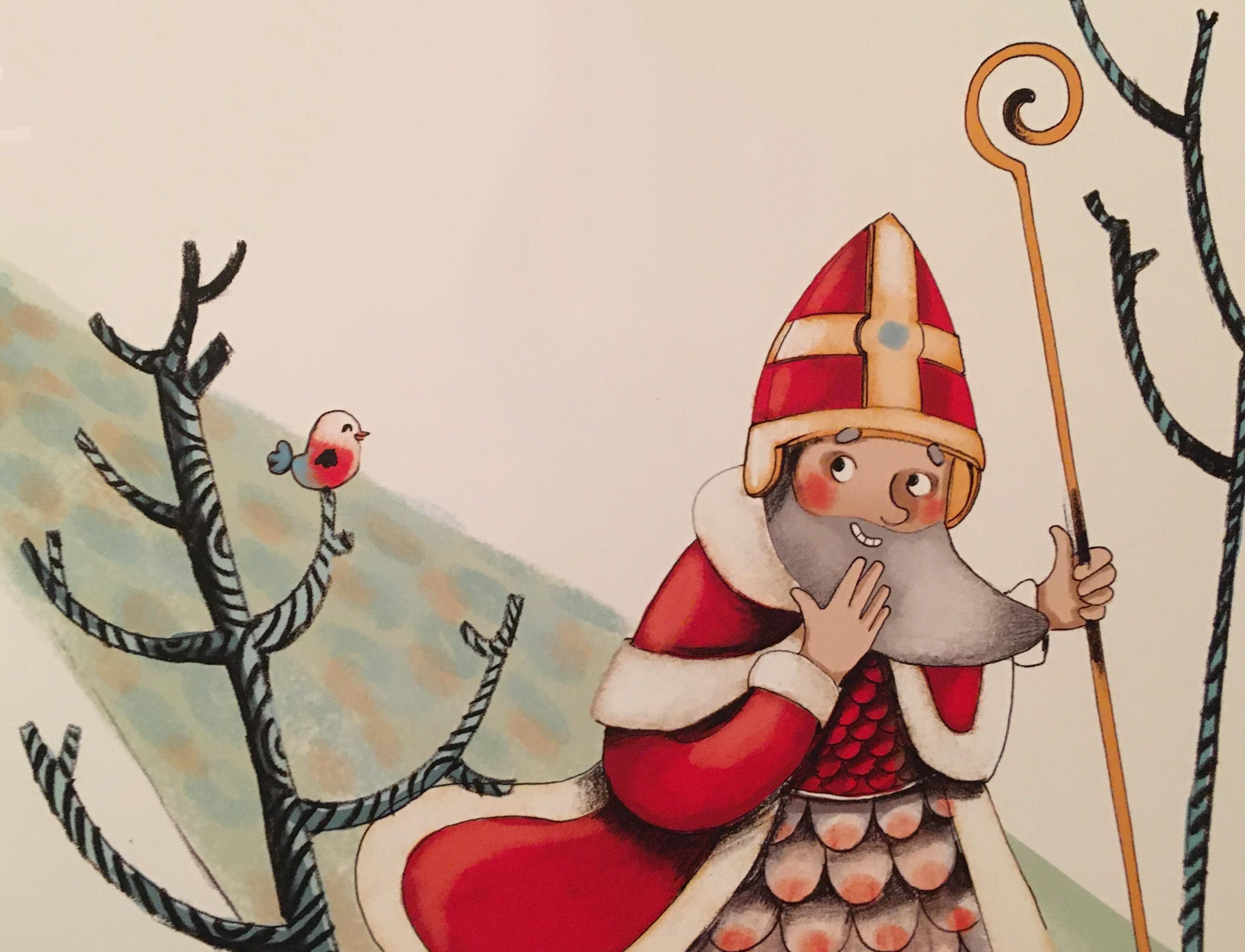 Saint Nicolas Et Son Ane Le Blogue De Normand Nantel